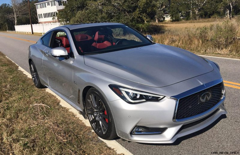 2017 INFINITI Q60 Red Sport 400 - Exterior Photos 53