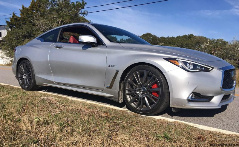 2017 INFINITI Q60 Red Sport 400 - Exterior Photos 54