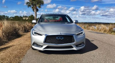 2017 INFINITI Q60 Red Sport 400 - Exterior Photos 60