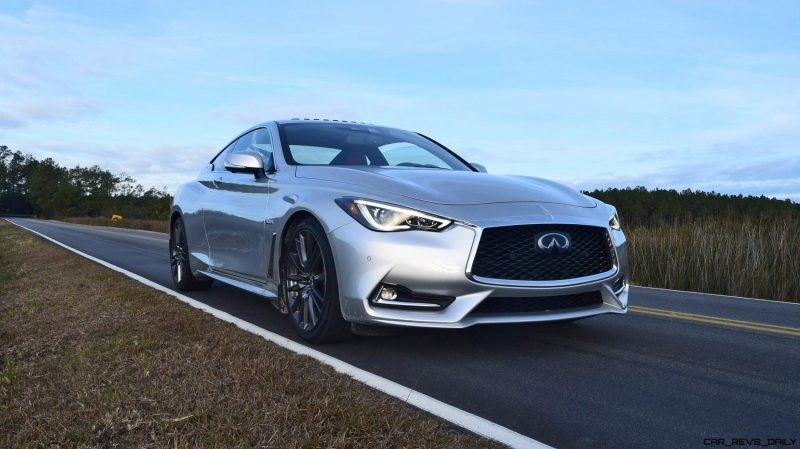 2017 INFINITI Q60 Red Sport 400 - Exterior Photos 7
