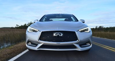 2017 INFINITI Q60 Red Sport 400 - Exterior Photos 8