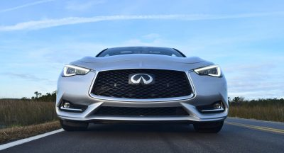 2017 INFINITI Q60 Red Sport 400 - Exterior Photos 9