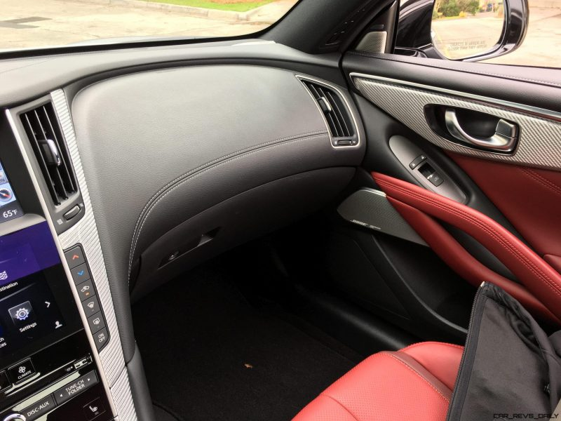 2017 INFINITI Q60 Red Sport 400 - Interior Photos 5