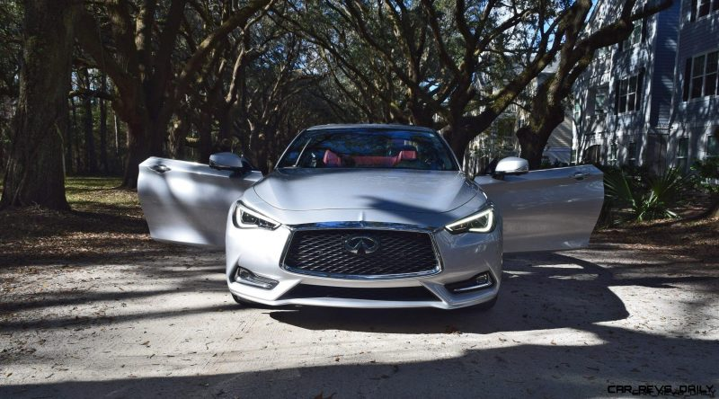 2017 INFINITI Q60 Red Sport 400 - Oaks Photoset 1