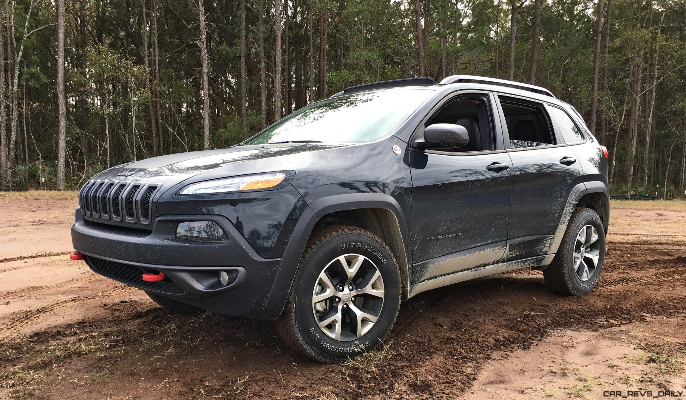 2017 jeep cherokee trailhawk hd road test review plus 2 videos. Black Bedroom Furniture Sets. Home Design Ideas