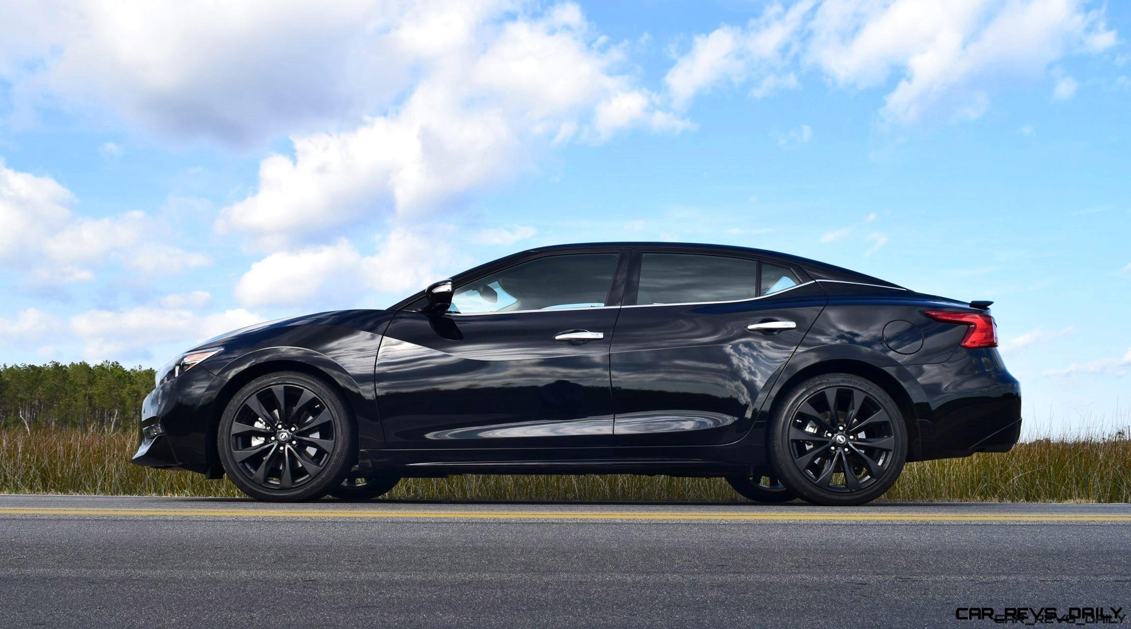 2017 Nissan Maxima SR Midnight Edition - HD Road Test ...