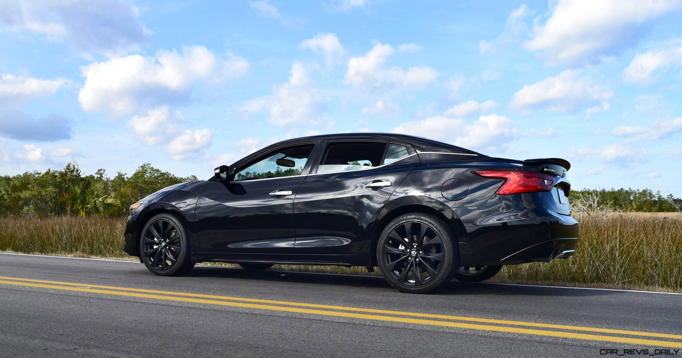 2017 Nissan Maxima Sr Midnight Edition Hd Road Test Review
