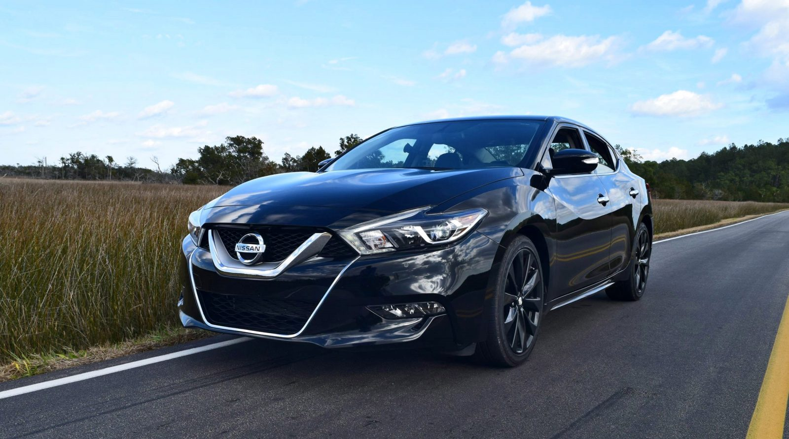 2017 nissan maxima sr midnight edition hd road test review