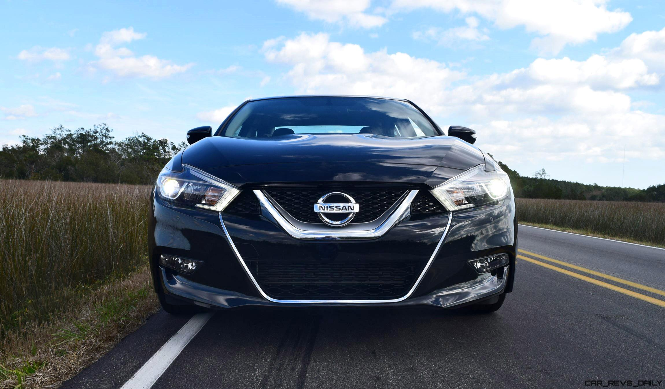 2017 nissan maxima sr midnight edition hd road test review. Black Bedroom Furniture Sets. Home Design Ideas