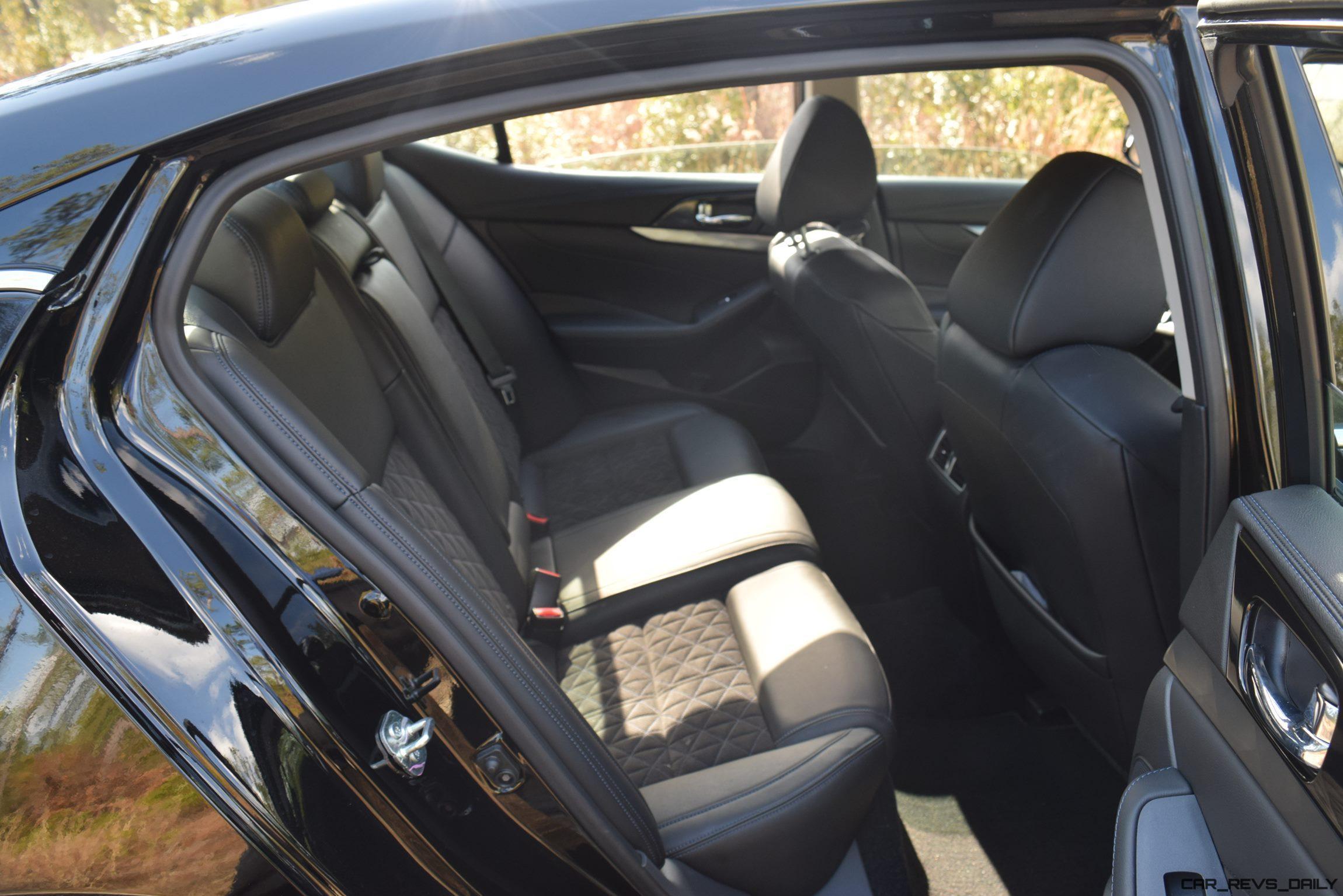 2017 Nissan Maxima Sr Midnight Edition Interior 2