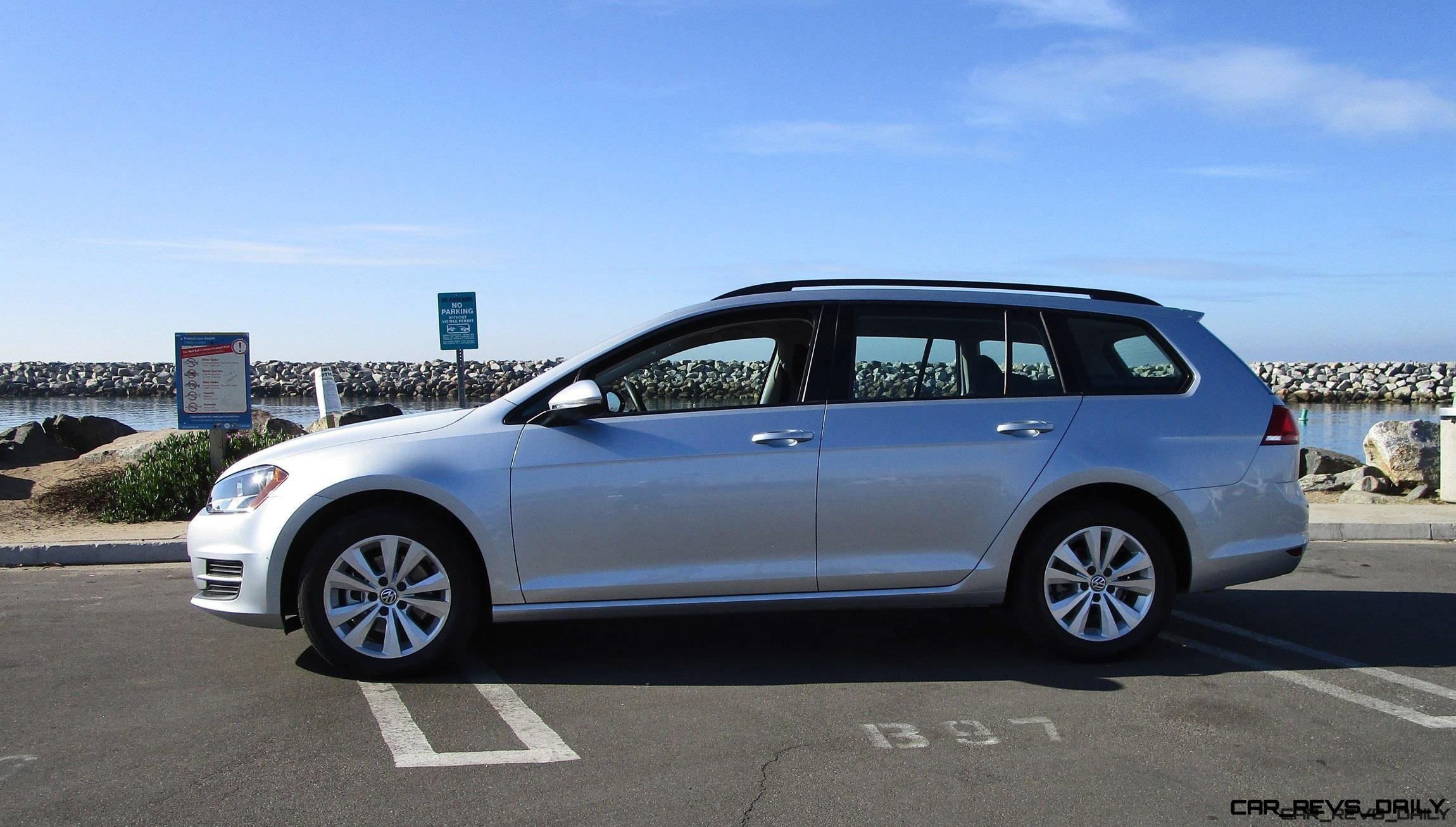 2017 VW Golf SportWagen S 4Motion 7