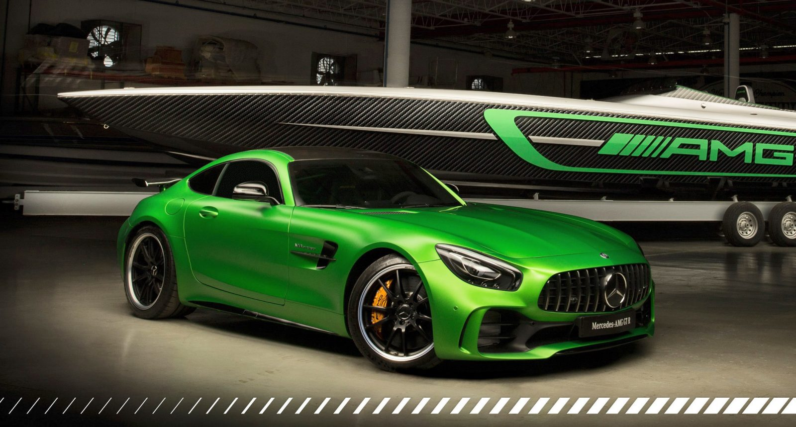 2018 mercedes amg gtr x marauder amg twins for miami boat show. Black Bedroom Furniture Sets. Home Design Ideas