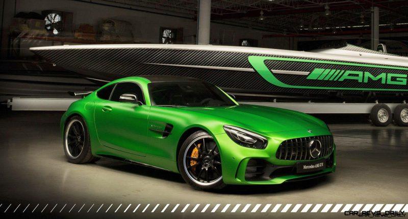 MercedesAMG GTR X Marauder AMG Twins For Miami Boat Show - Miami car show 2018