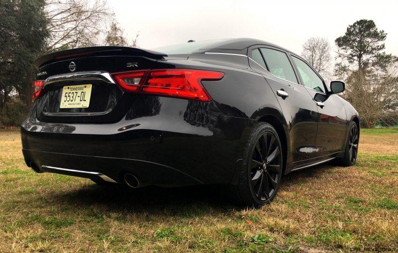 2017 Nissan Maxima Sr Midnight Edition Hd Road Test