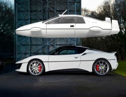 USA-Bound 2017 Lotus Exclusive EVORA 410 Honors Submersible Bond Esprit