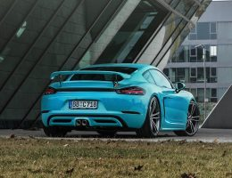TECHART Reveals 718 Boxster and Cayman w/ 50HP PnP Powerkit