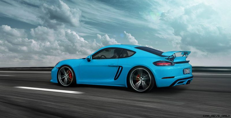 Techart Reveals 718 Boxster And Cayman W 50hp Pnp Powerkit