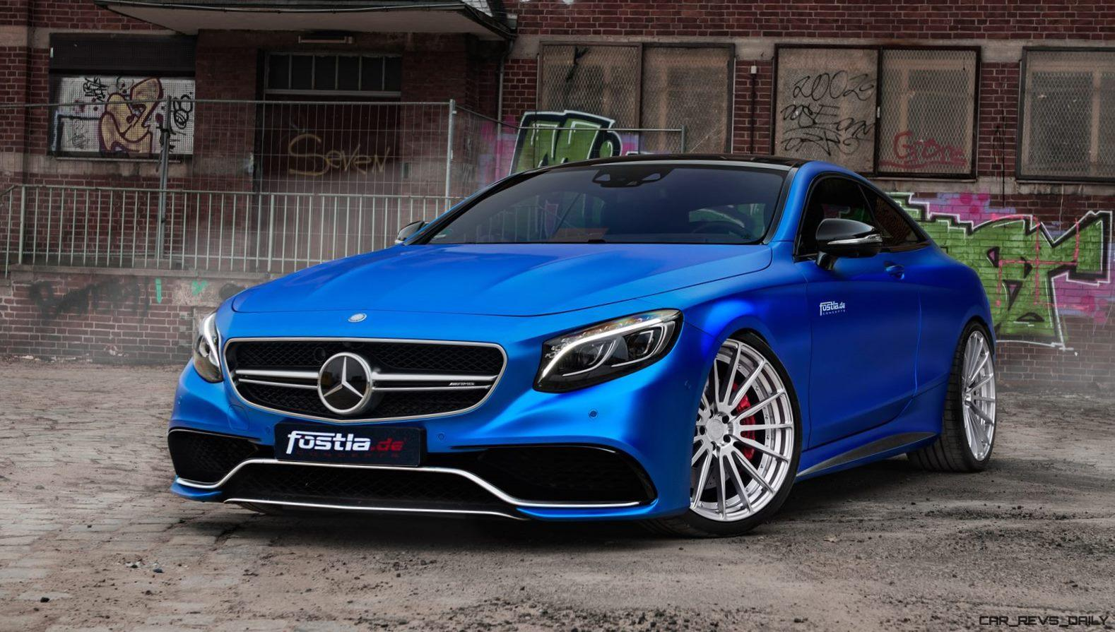 2017 Mercedes-AMG S63 Coupe By FOSTLA.de Is Dripping Blue ...