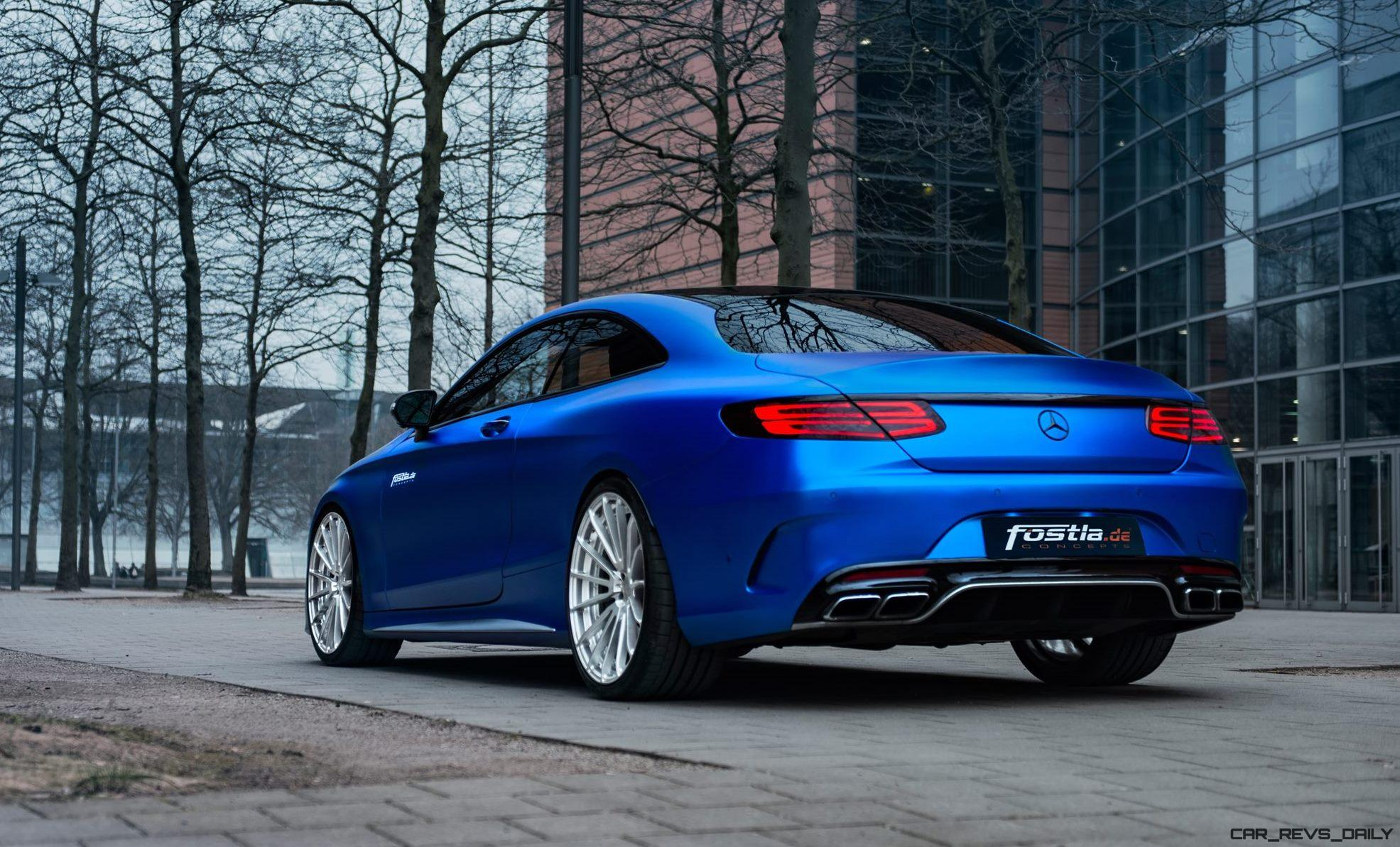 2017 mercedes amg s63 coupe by is dripping blue chrome car shopping. Black Bedroom Furniture Sets. Home Design Ideas