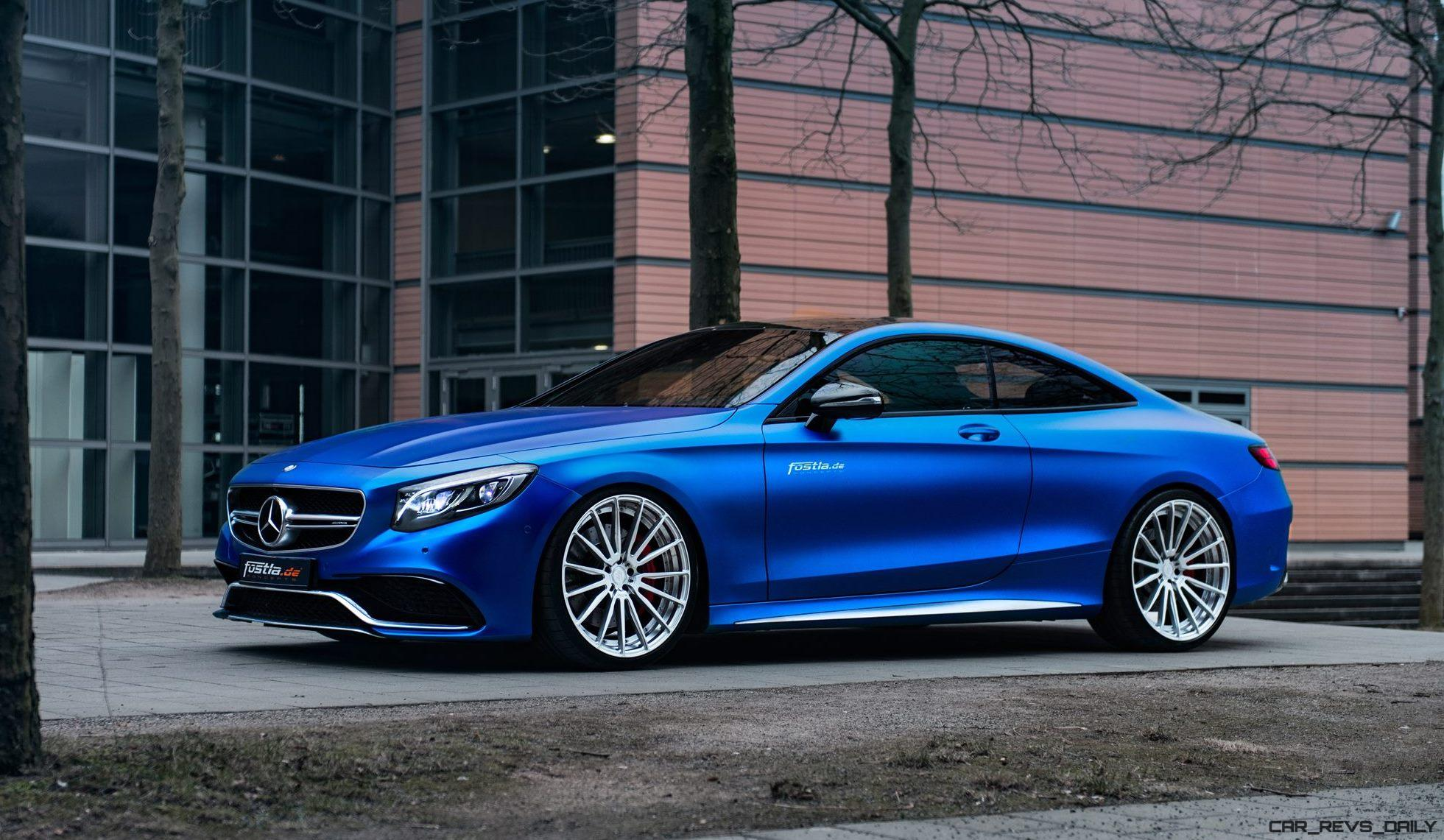 2017 mercedes amg s63 coupe by is dripping blue. Black Bedroom Furniture Sets. Home Design Ideas