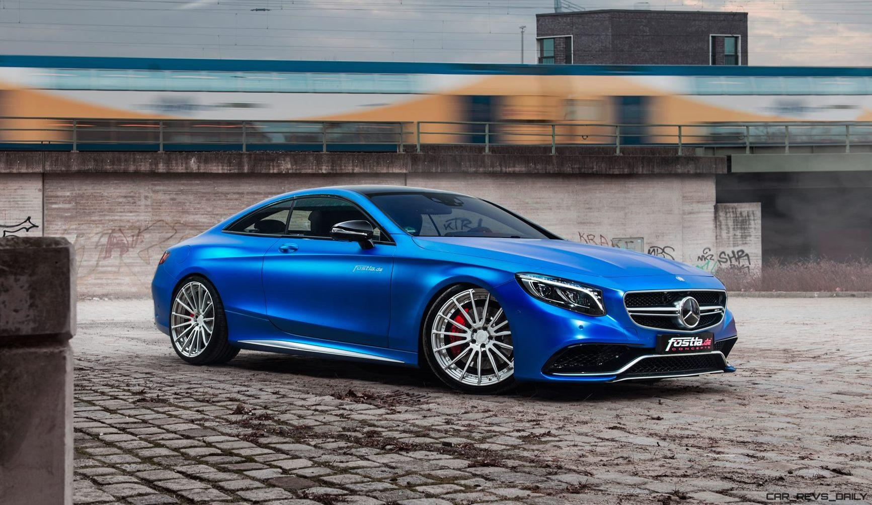 2017 mercedes amg s63 coupe by is dripping blue chrome car revs. Black Bedroom Furniture Sets. Home Design Ideas