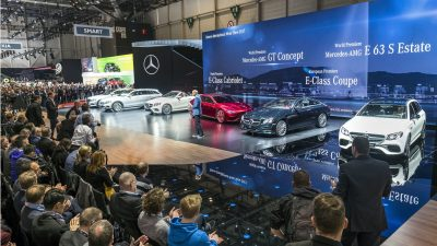 Mercedes-Benz auf dem Internationalen Automobil-Salon Genf 2017