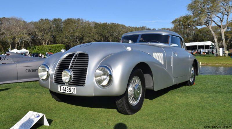 1938 Mercedes-Benz 540K Streamliner 12