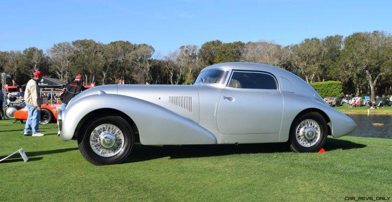 1938 Mercedes-Benz 540K Streamliner 16