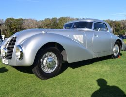 1938 Mercedes-Benz 540K Streamliner at Amelia Island Concours [40 Photos]