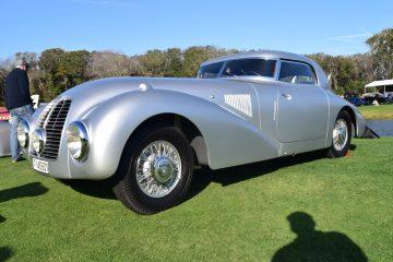 1938 Mercedes-Benz 540K Streamliner at Amelia Island Concours [40 Photos]