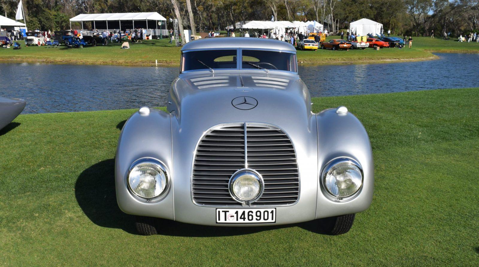 1938 Mercedes-Benz 540K Streamliner 9