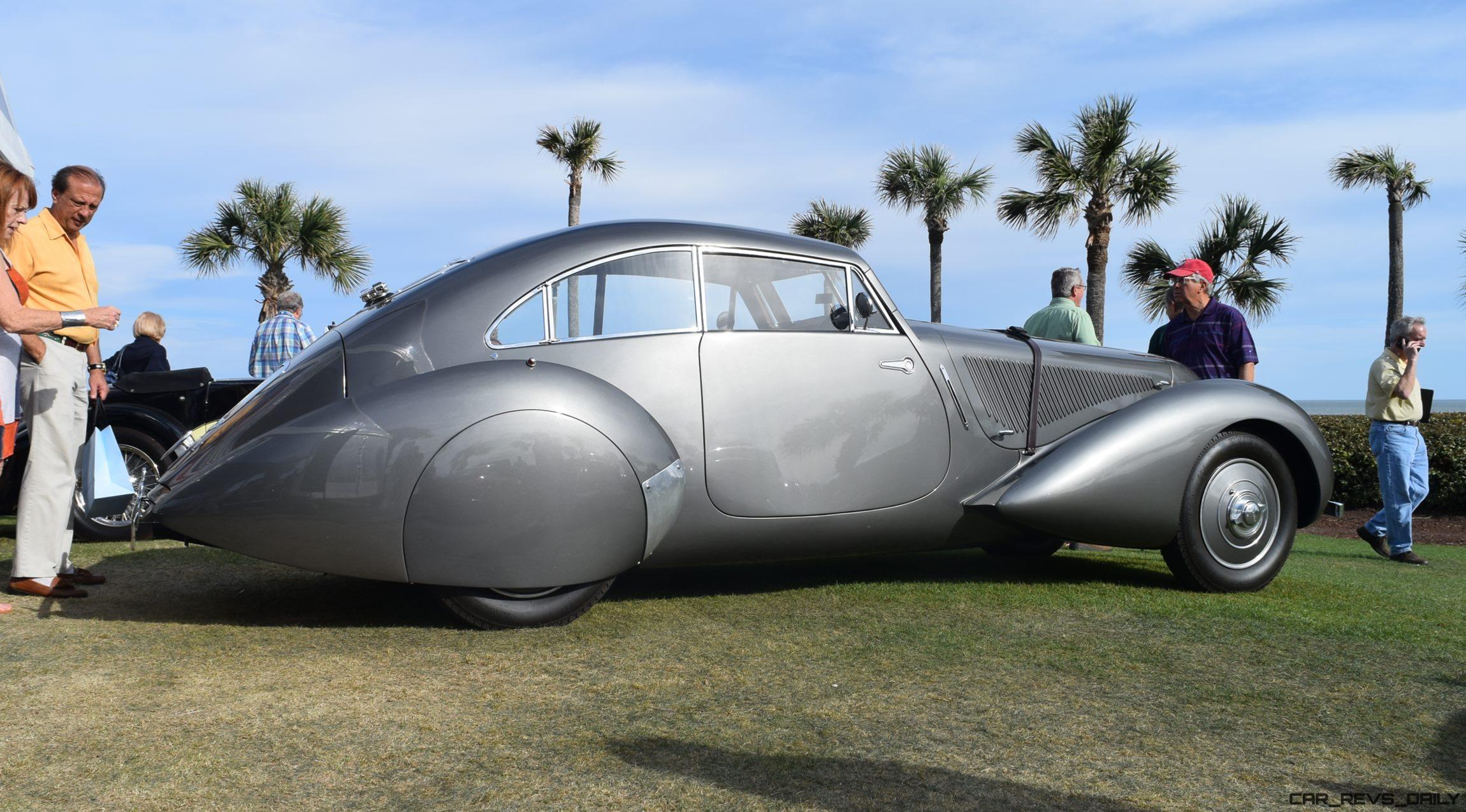 1939 Bentley 4 25 Litre Embiricos Coupe Amelia Island RM [31 s]