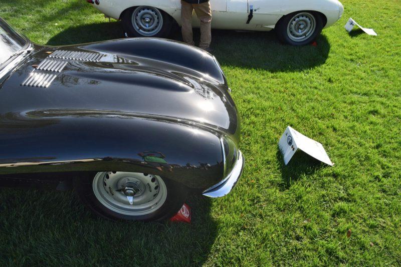 1957 Jaguar XKSS 716 at Amelia Island Concours 39