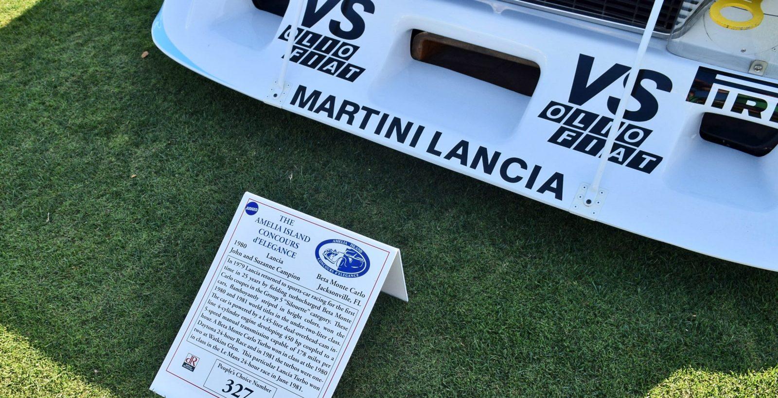 1981 Lancia BETA Monte Carlo Turbo 4