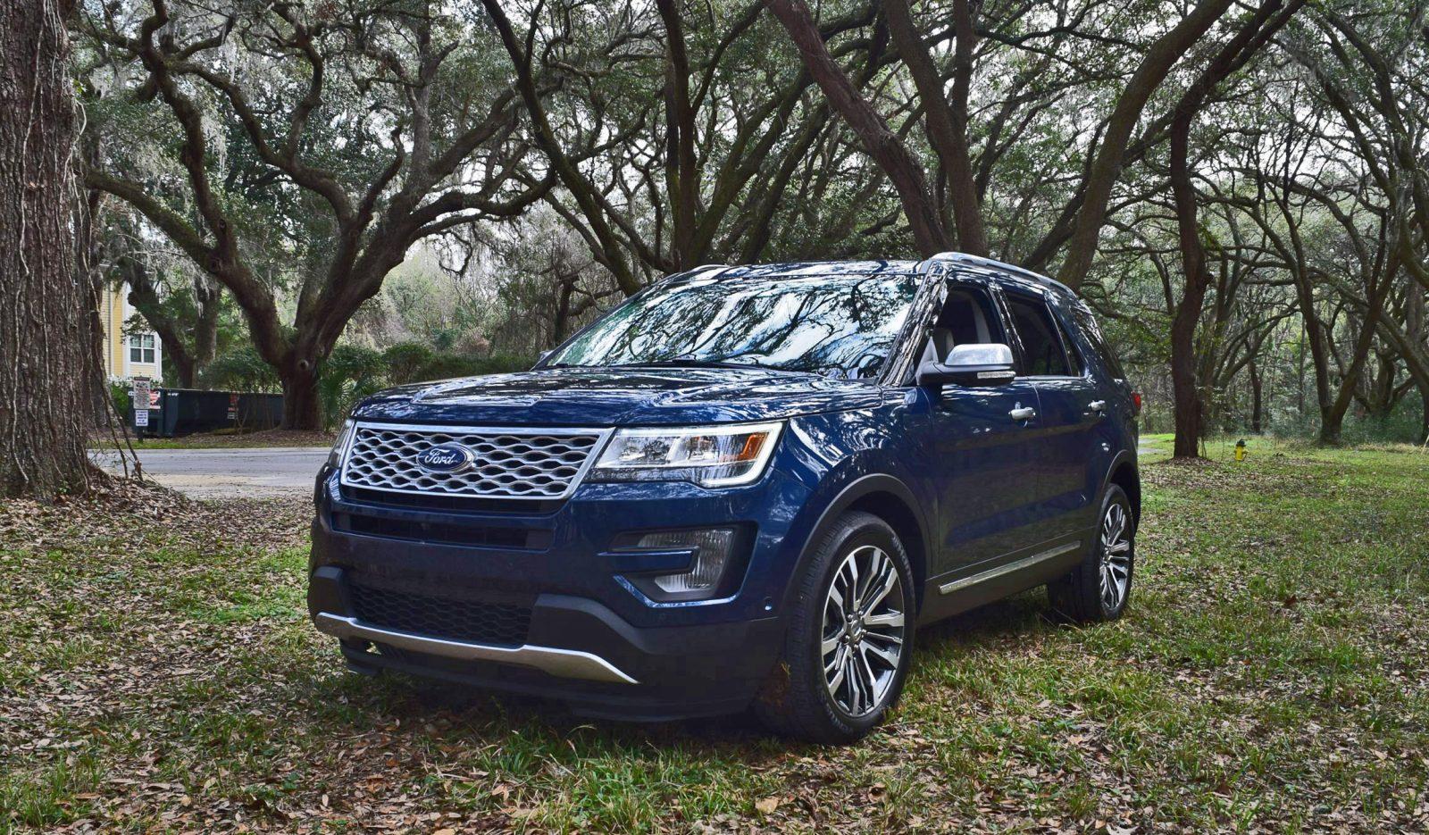2017 Ford Explorer Platinum 4 Hd Road Test Review
