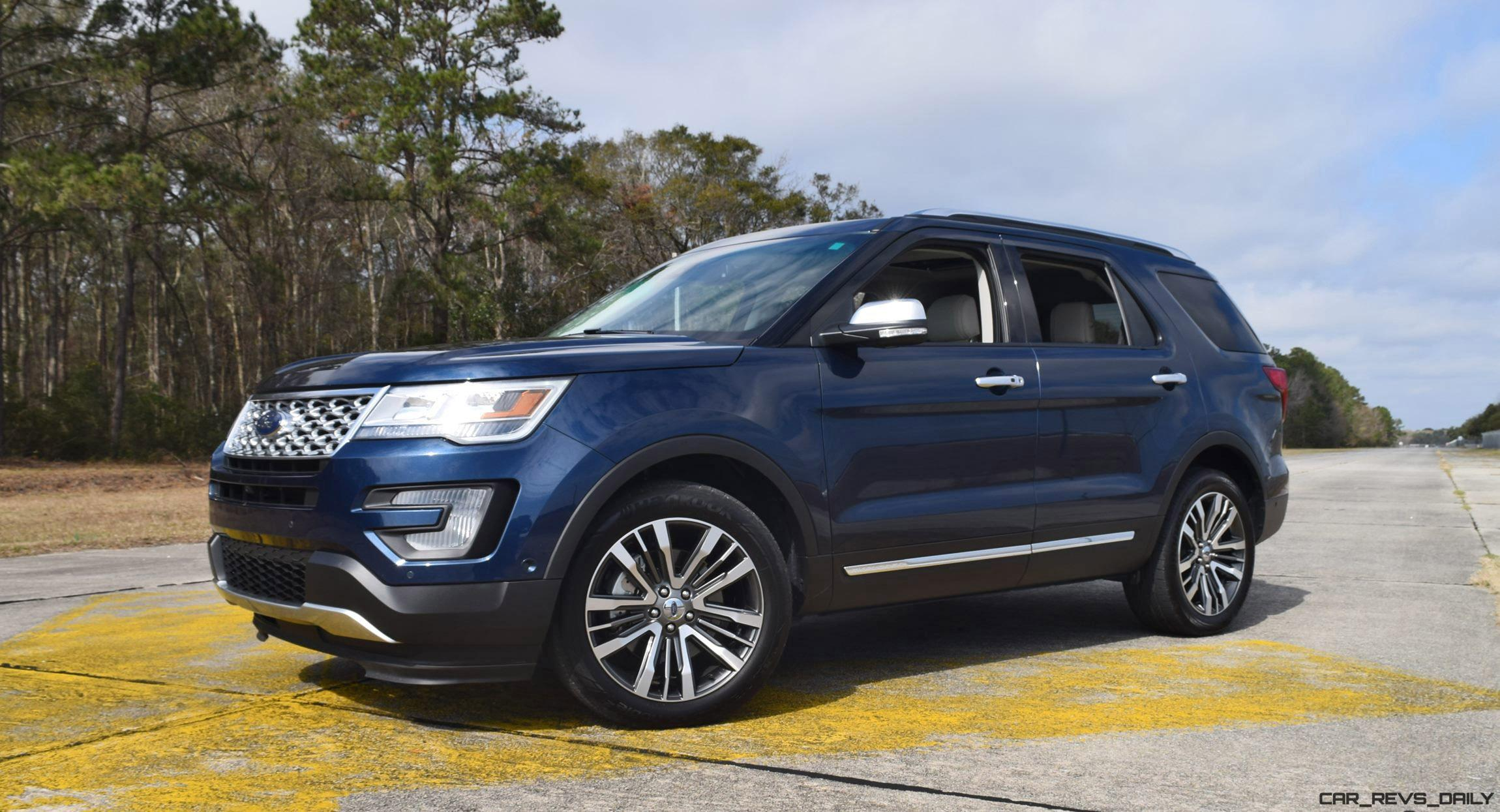 2017 ford explorer platinum 4x4 hd road test review car revs. Black Bedroom Furniture Sets. Home Design Ideas