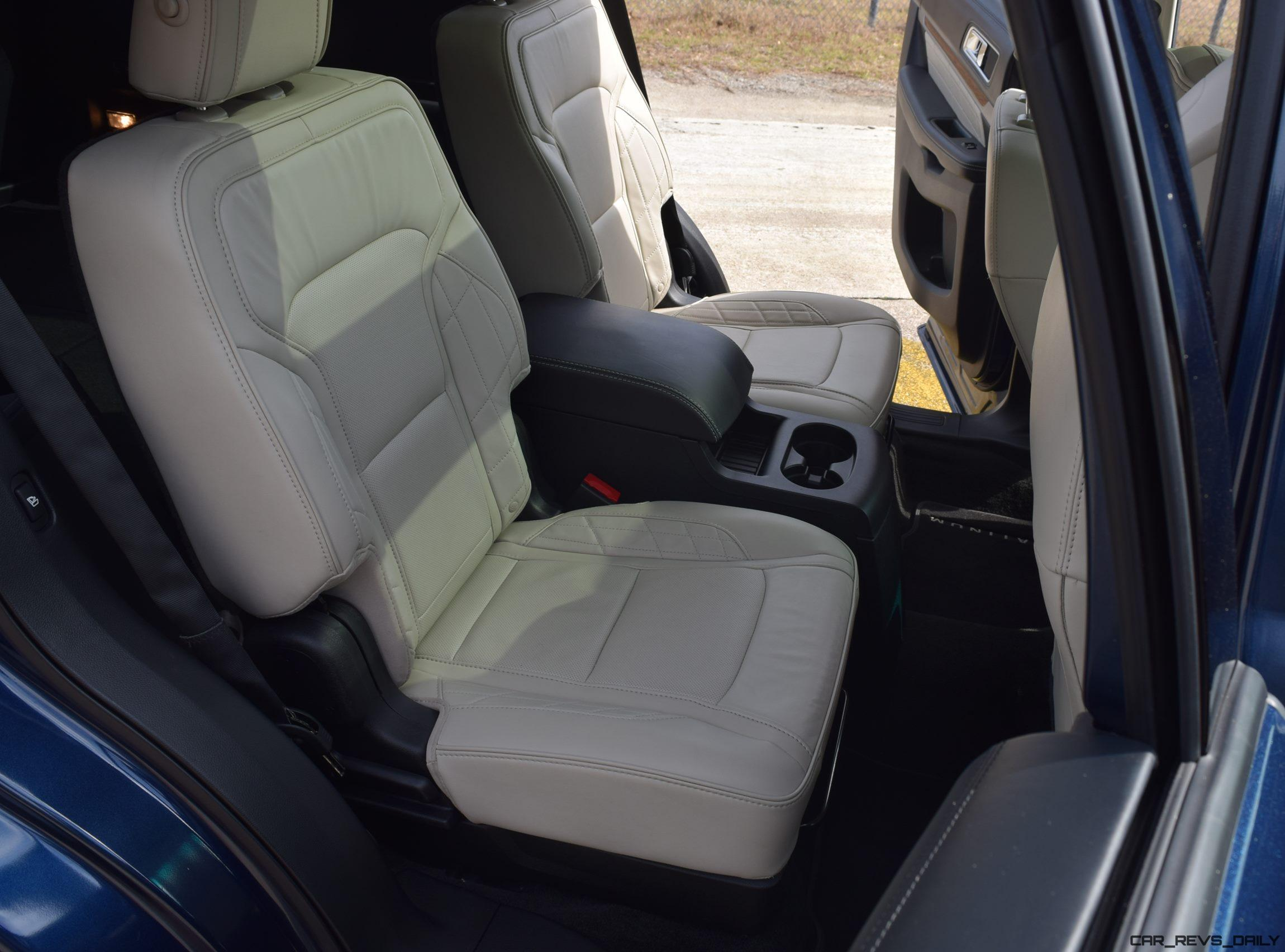 2017 Ford Explorer Platinum Interior 11