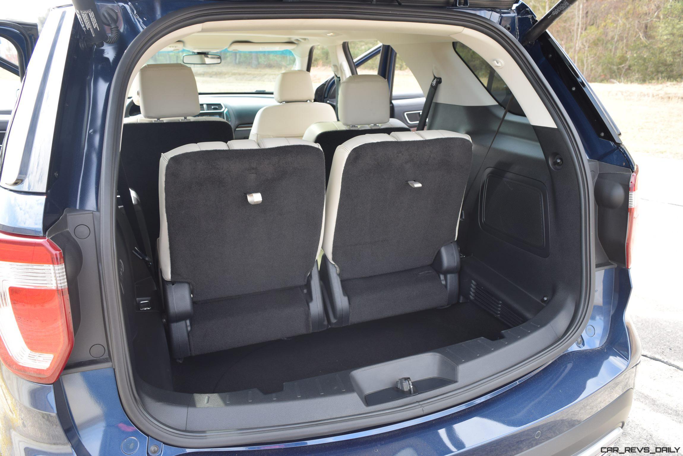2017 Ford Explorer Platinum Interior 17
