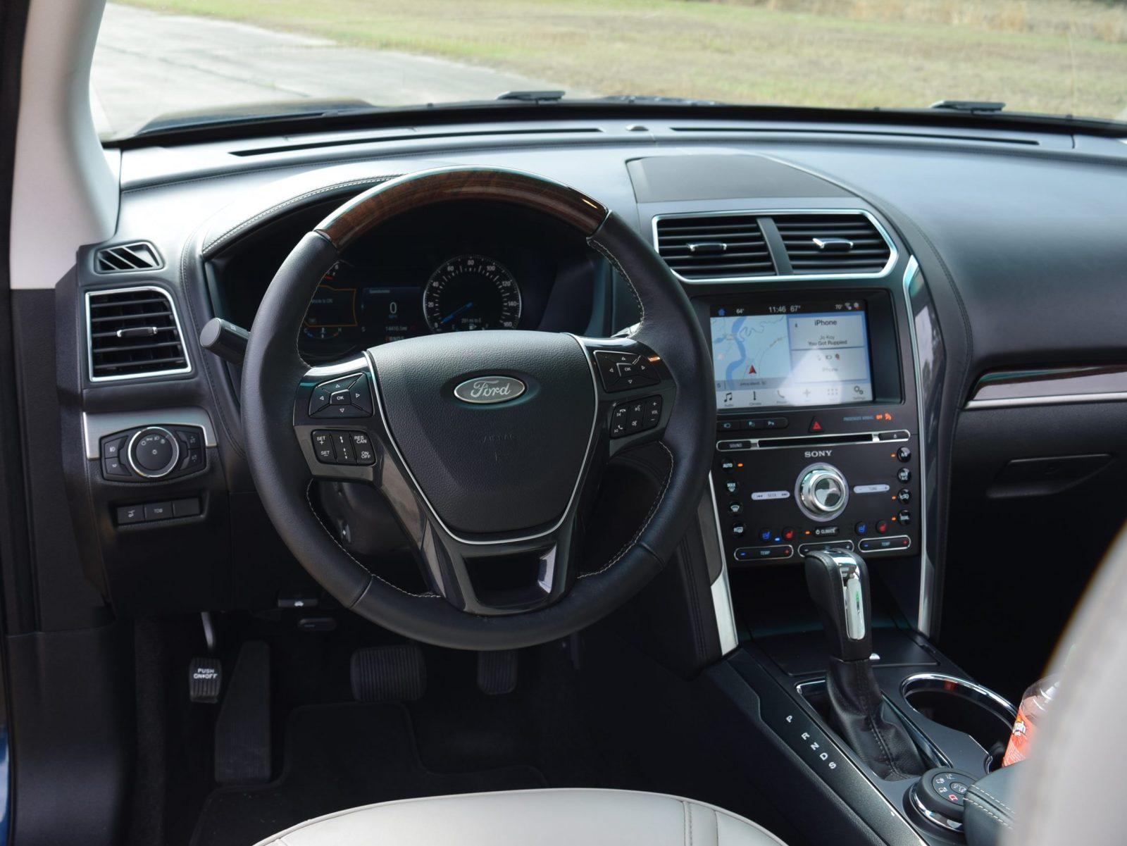 Nissan Luxury Brand >> 2017 Ford Explorer Platinum - Interior 2
