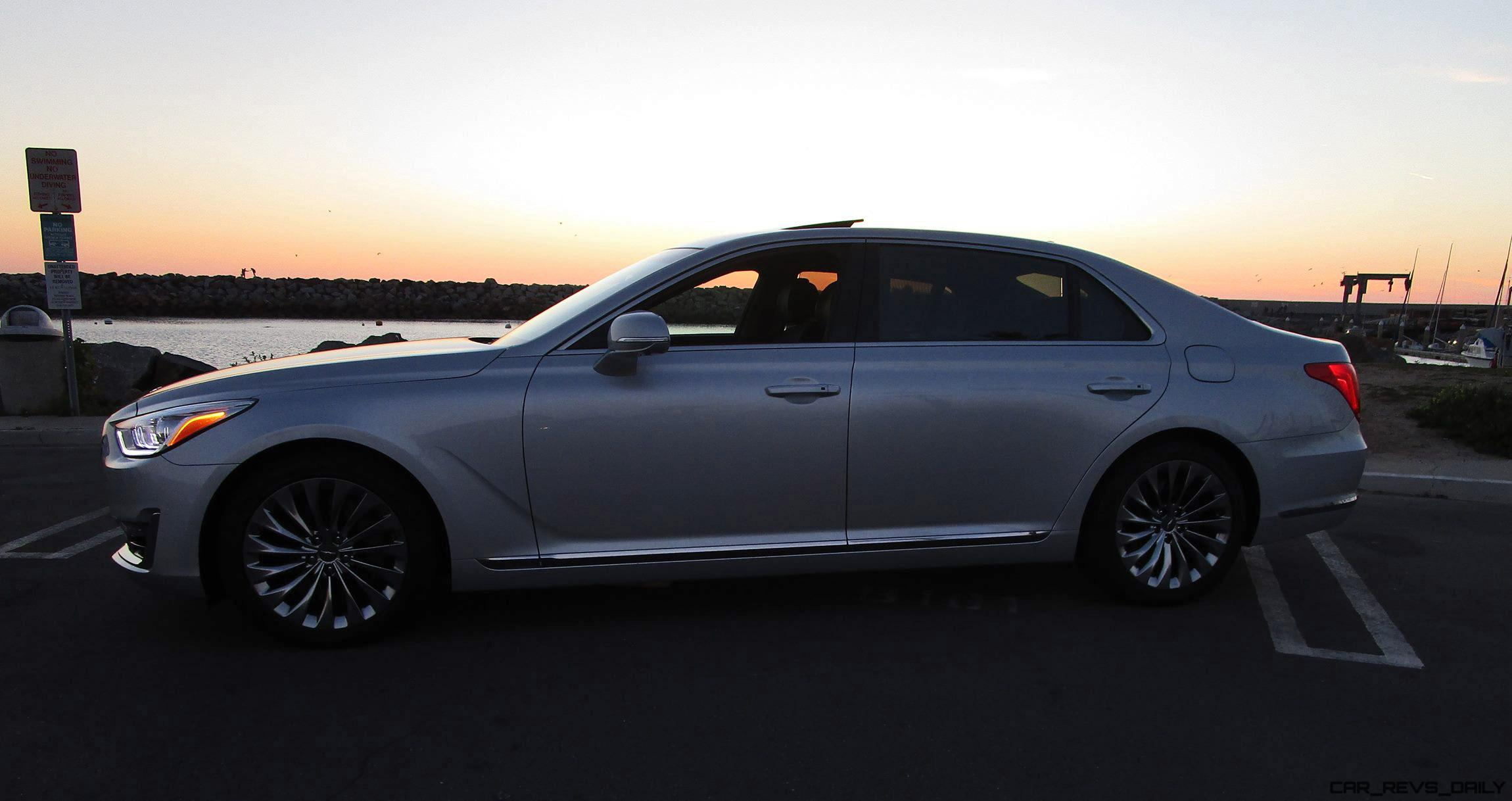 2017 genesis g90 5 0 ultimate rwd road test review by. Black Bedroom Furniture Sets. Home Design Ideas