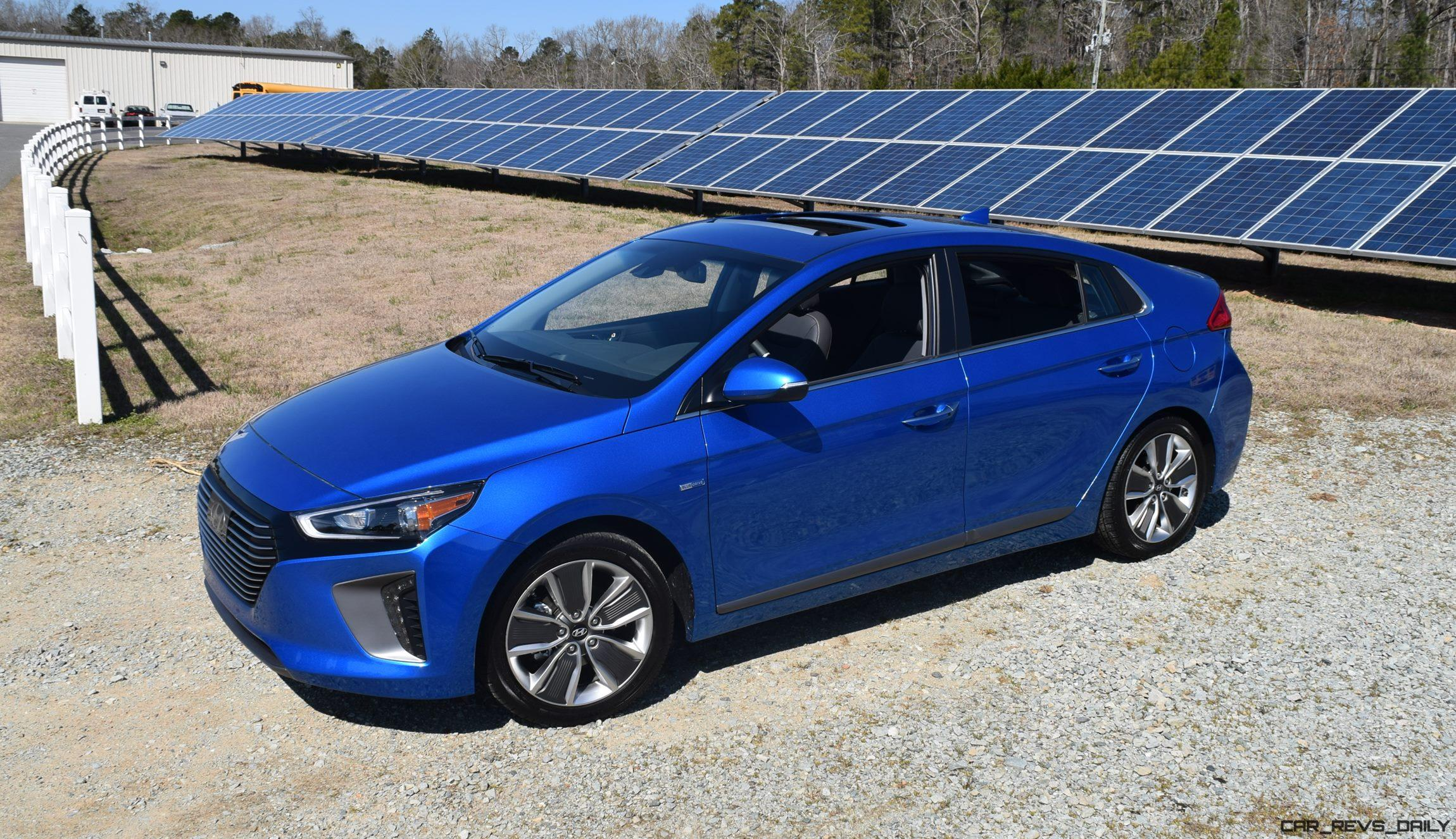 New 2017 Hyundai Ioniq Hybrid  First Drive Review W Video