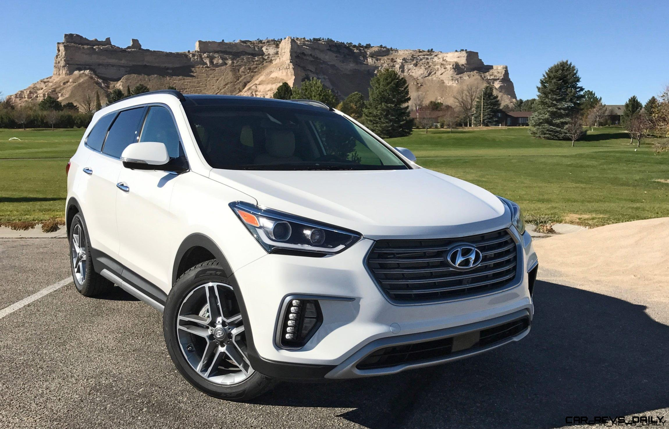 2017 Hyundai Santa Fe Ultimate Road Test Review By Tim Esterdahl