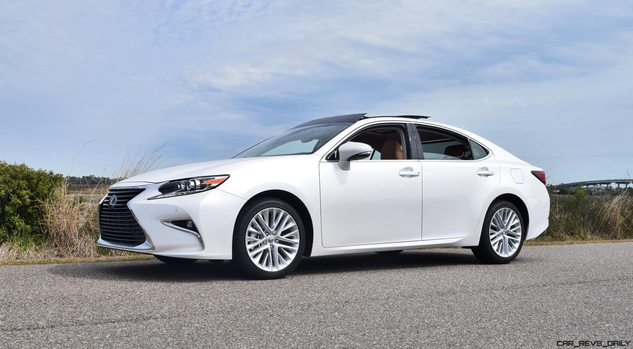 2017 Lexus Es350 Hd Road Test Review W 2 Videos By