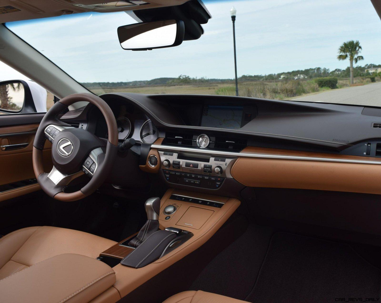 2017 lexus es350 interior 6