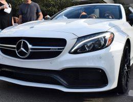 2017 Mercedes-AMG C63S Cabriolet at Amelia Island [25 Photos]