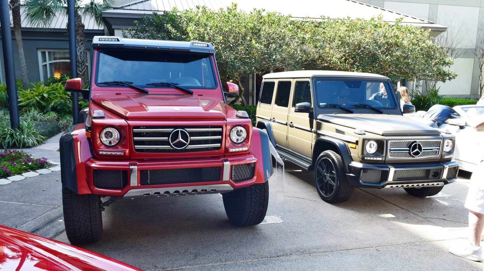 2017 mercedes benz g550 4x4 at amelia island concours 45 photos. Black Bedroom Furniture Sets. Home Design Ideas