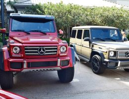 2017 Mercedes-Benz G550 4×4 at Amelia Island Concours [45 Photos]