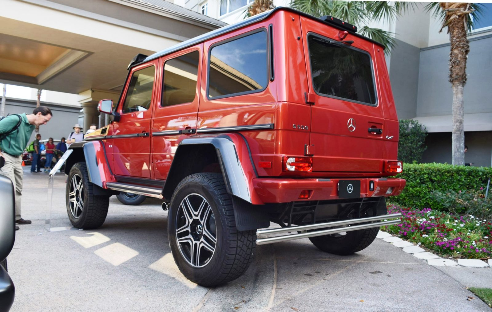 2017 mercedes benz g550 4x4 at amelia island concours 45 for 2017 mercedes benz g550 4x4 squared