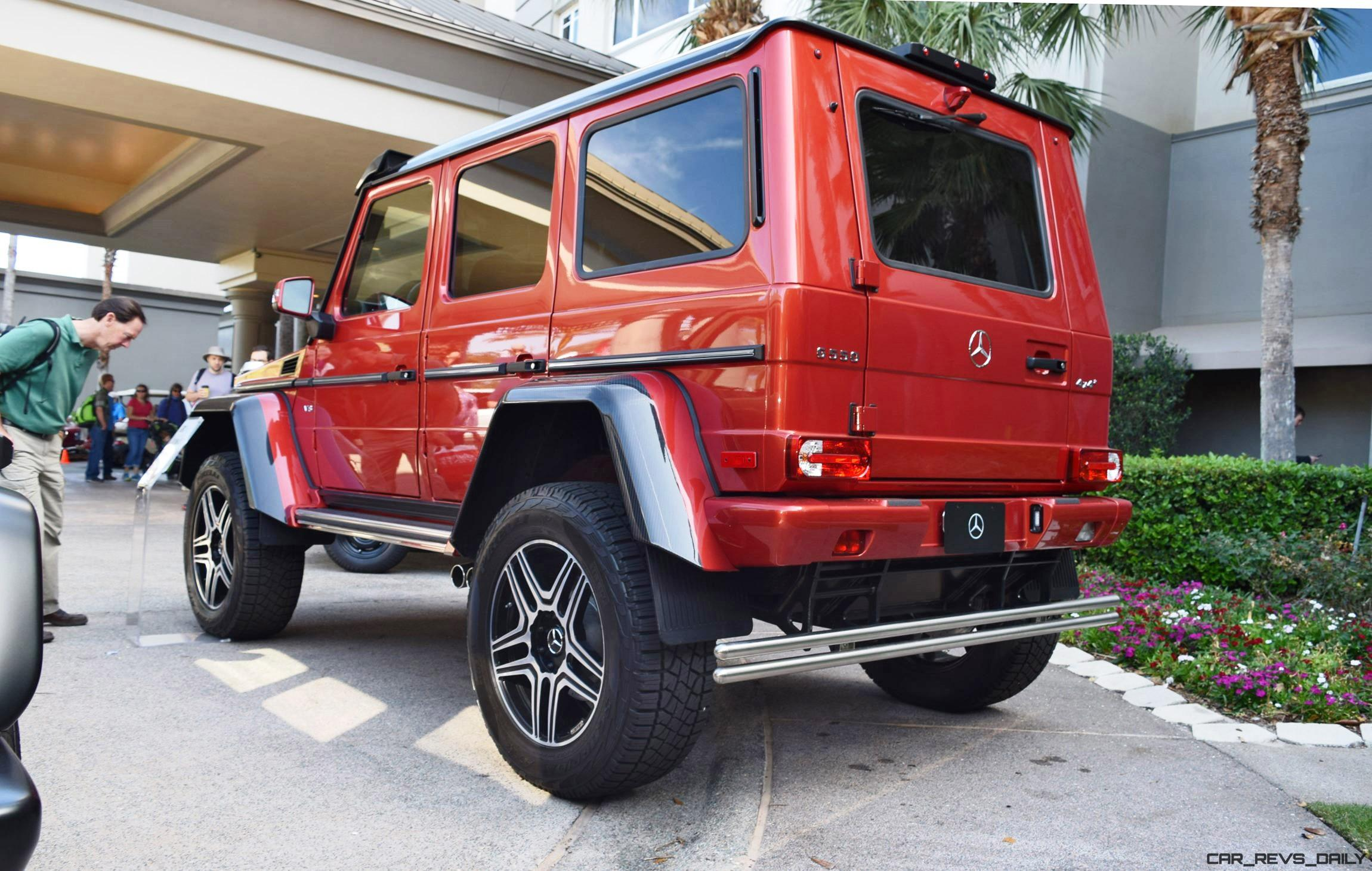 2017 mercedes benz g550 4x4 at amelia island concours 45 for Mercedes benz g550 4x4 squared