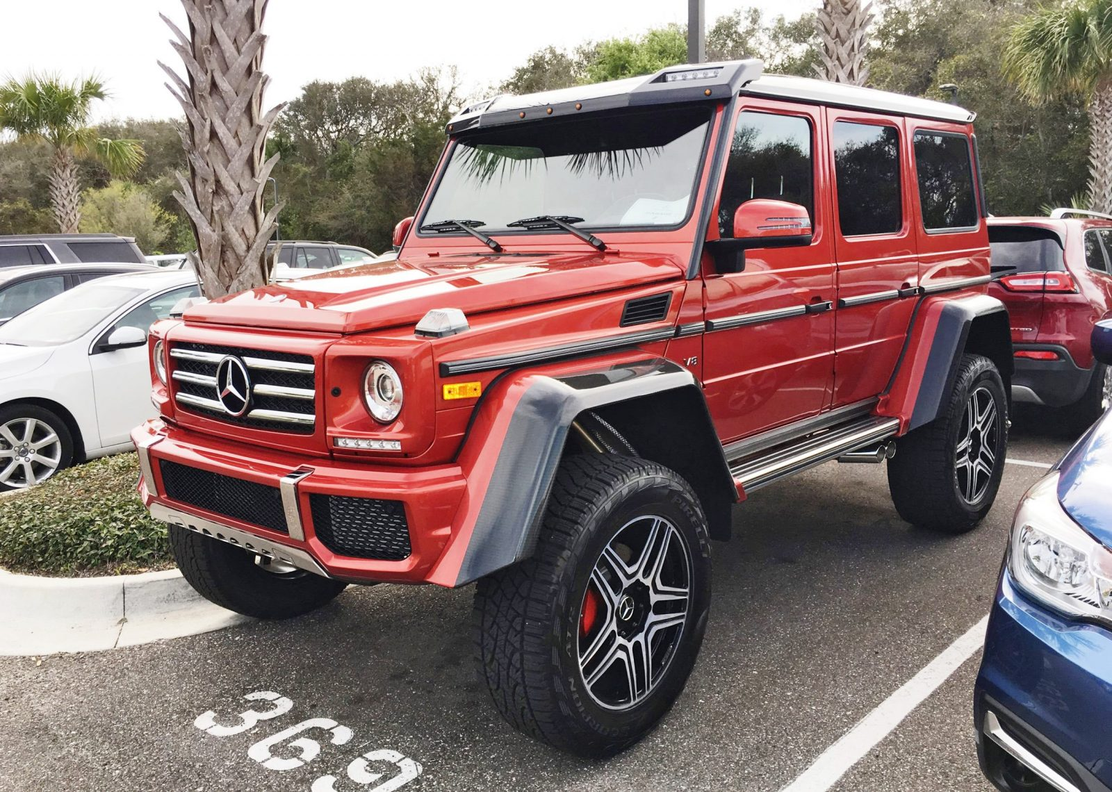 2017 mercedes benz g550 4x4 at amelia island concours 45 for Mercedes benz 4 x 4